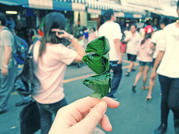 Miang Kham on a Stick